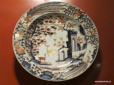 Porcelana japońska w stylu Imari | fot. A.Gach