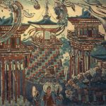 Bihua or Chinese frescoes