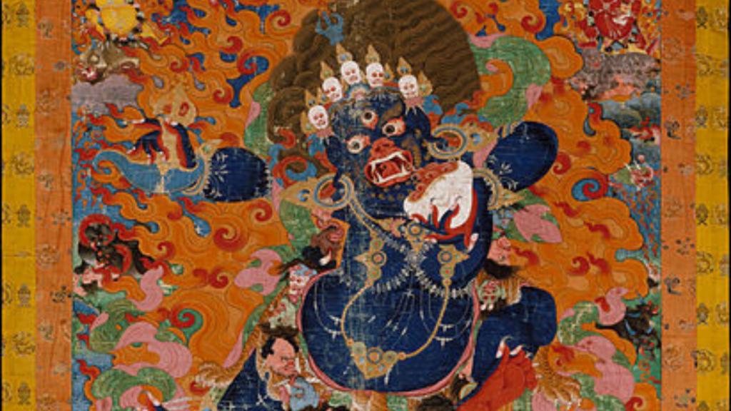 Thang-ka, czyli religijne malarstwo Tybetu