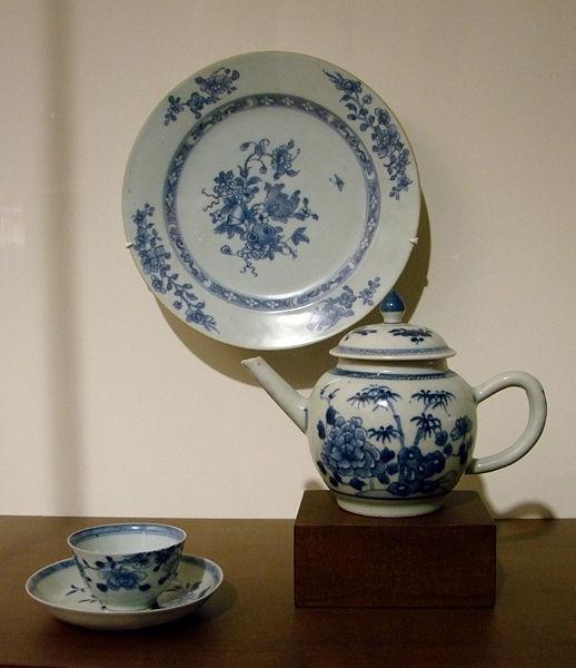Chińska porcelana eksportowa, XVIII wiek, Muzeum Guimet, Paryż Źródło: Wikimedia Commons
