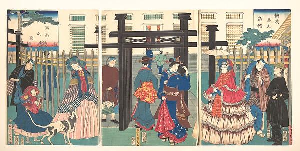 Yokohama-e, czyli gdy zobaczysz cudzoziemca po raz pierwszy
