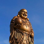 Budda Maitreja na Tajwanie- wizerunek uśmiechniętego grubaska